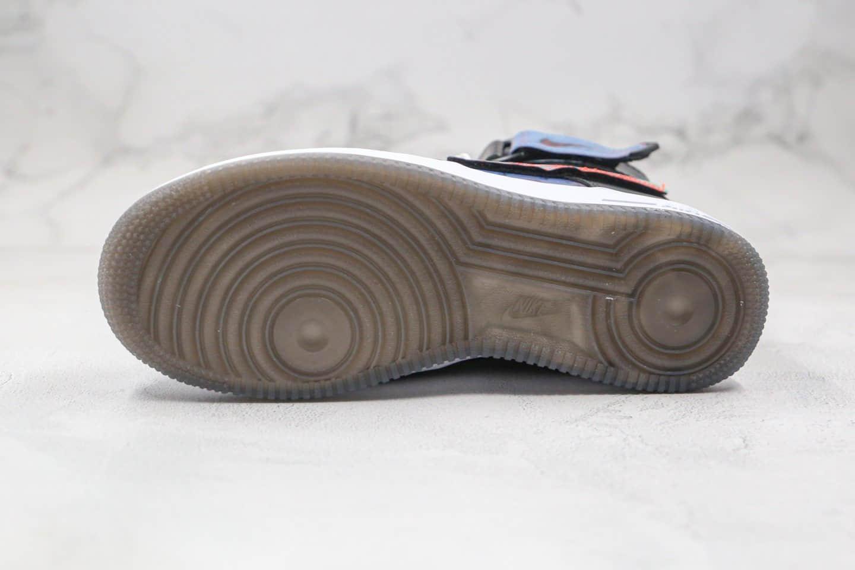 耐克NIKE Air Force 1 High Good Game纯原版本高帮空军一号英雄联盟电玩系列炫彩镭射魔术贴板鞋原鞋开模一比一打造 货号:DC0831-101