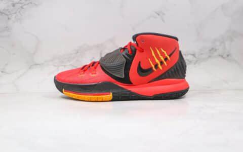 纯原版本耐克欧文6代李小龙黑红色实战球鞋出货
