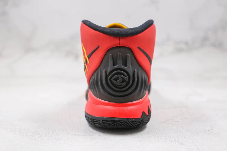 耐克Nike Kyrie 6 Bruce LeeBM纯原版本欧文6代李小龙黑红色篮球鞋内置气垫原盒原标 货号:CJ1290-600