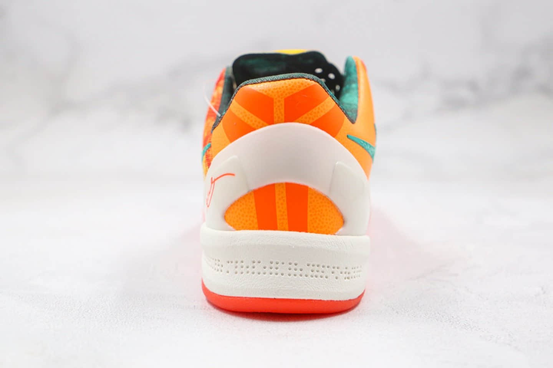 耐克NIKE Kobe 8 SYSTEM PP纯原版本科比八代活力橙色篮球鞋内置碳板支持实战 货号:587580-800