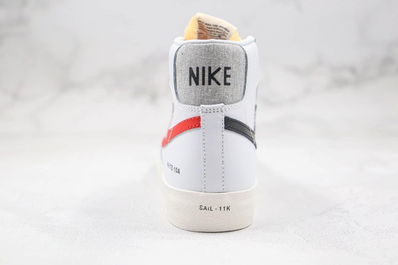 耐克NIKE ZOOM BLAZER MID纯原版本中帮开拓者四色勾鸳鸯板鞋内置Zoom气垫 货号:DA2142-146