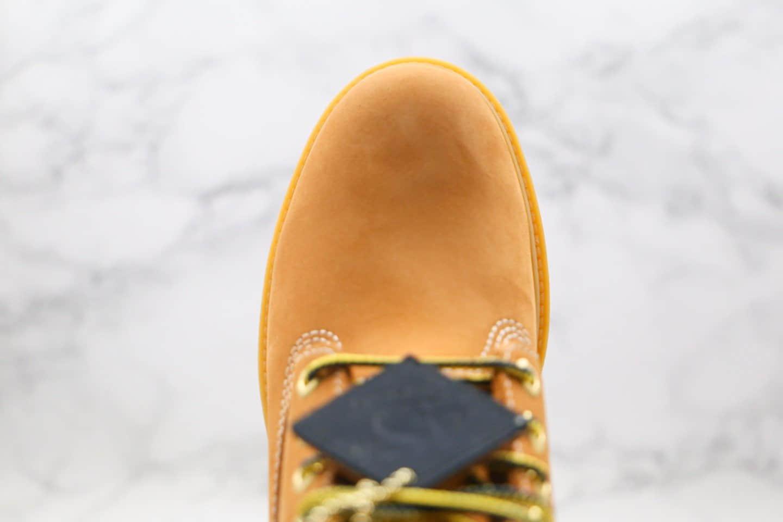 天伯伦Timberland添柏岚45周年小麦色大黄靴纯原版本原鞋开模一比一打造