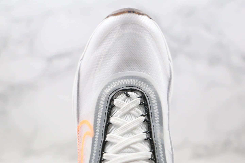 耐克Nike Air Vapormax 2090纯原版本半掌气垫Max2090白橙色内置真小潘气垫 货号:DA1502-100