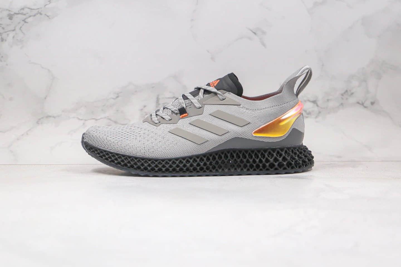阿迪达斯adidas X90004D公司级版本科技跑鞋针织跑鞋灰银黄原鞋开模 货号:FW7091