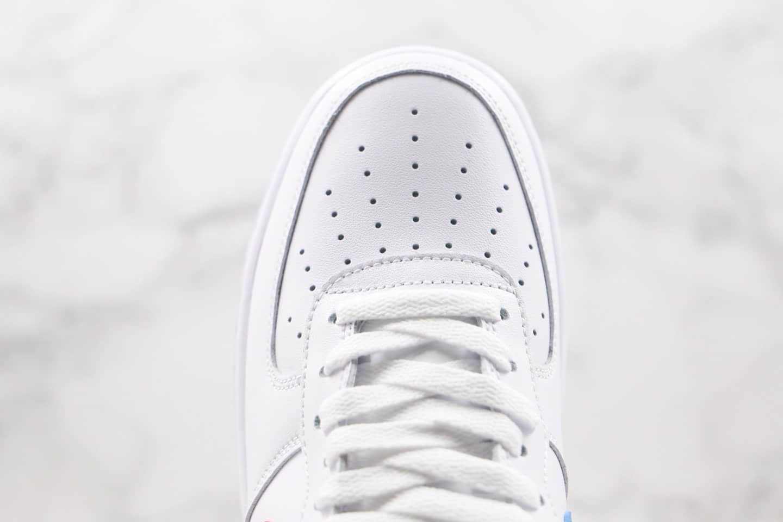 耐克Nike Air Force 1 Low纯原版本低帮空军一号鸳鸯勾白红蓝色板鞋内置气垫 货号:CT2816-100