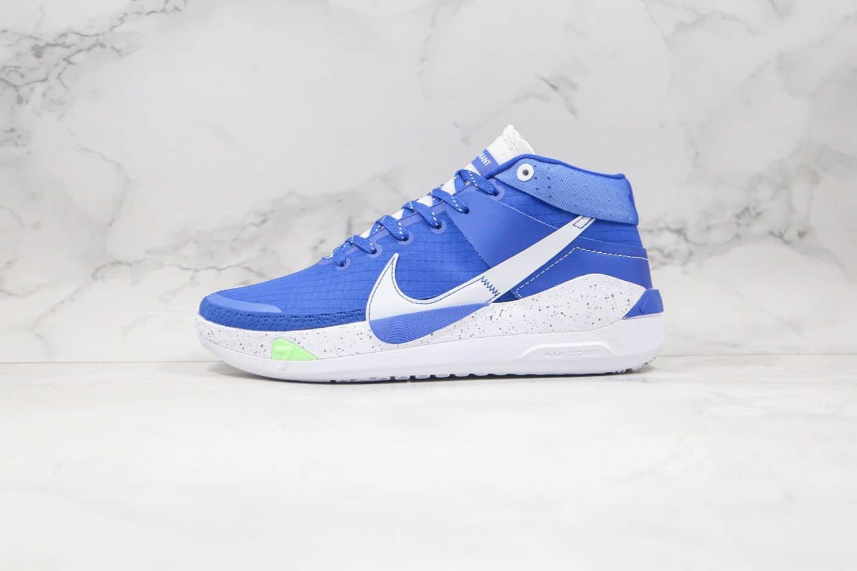 耐克Nike Zoom KD13 EP纯原版本杜兰特13代篮球鞋蓝白色内置气垫支持实战 货号:CI9948-400