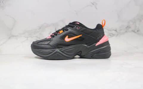纯原版本耐克M2K黑粉色复古老爹鞋出货