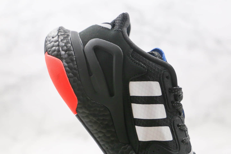 阿迪达斯Adidas Originals 2020 Day Jogger Boost 2020纯原版本三叶草夜行者二代黑白绿色爆米花跑鞋原盒原标 货号:FW3020
