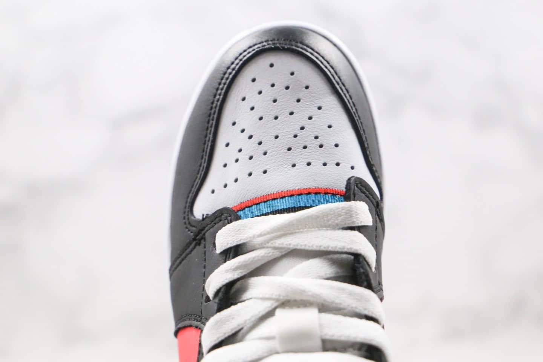 乔丹Air Jordan 1 MID纯原版本中帮AJ1蓝彩带游戏时刻配色内置气垫原盒原标 货号:CV4891-001