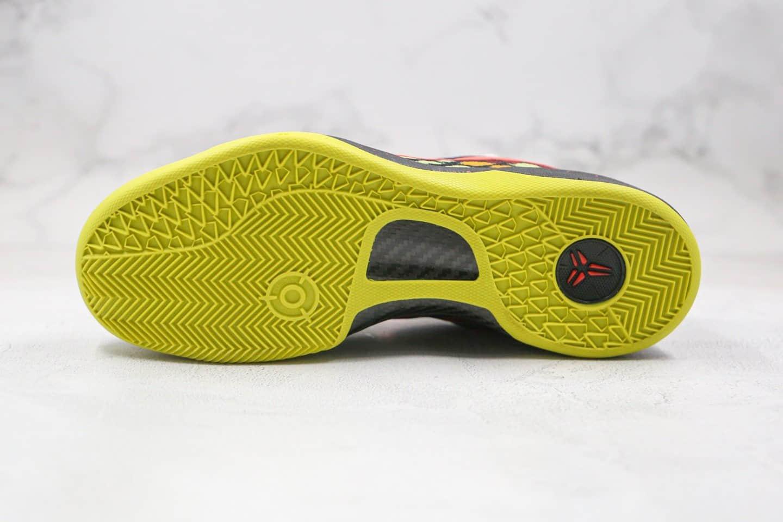 耐克Nike Kobe 8 System纯原版本科比8代圣诞大战配色篮球鞋内置碳板气垫支持实战 货号:555286-060