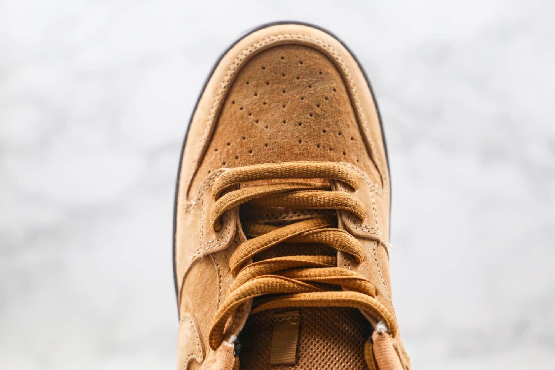 耐克Nike SB Dunk Low公司级版本低帮SB DUNK小麦生胶色板鞋内置Zoom气垫 货号:BQ6817-204