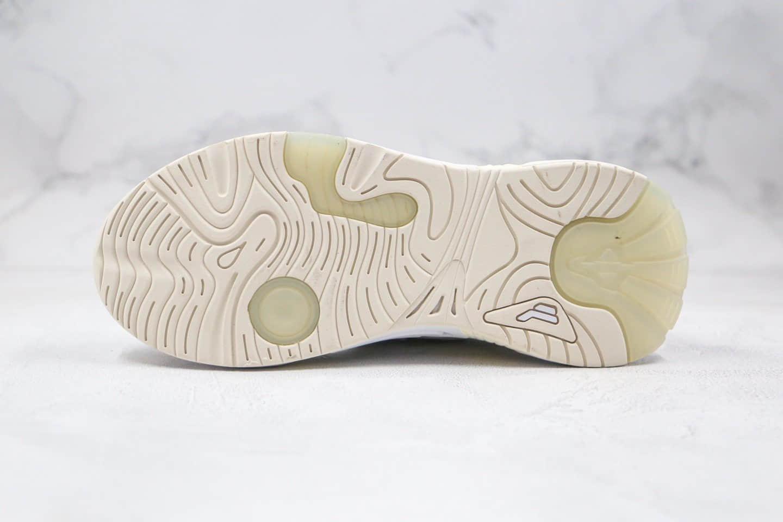 斐乐FILA Swarm 2020 Interation纯原版本复古老爹鞋米黄色原盒原标原楦头纸板打造 货号:F12W021213FWT