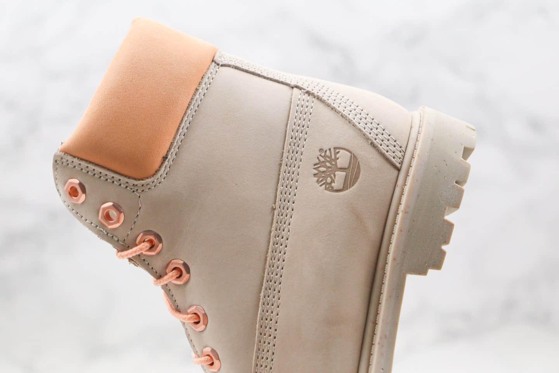 天伯伦Timberland x BILLIONAIRE BOYS CLUB冰淇淋联名款纯原版本高帮粉色冰淇淋工装马丁靴原盒原标
