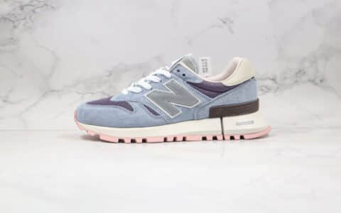 新百伦New Balance 1300纯原版本复古慢跑鞋NB1300蓝粉色原楦头纸板打造 货号:MS1300KI