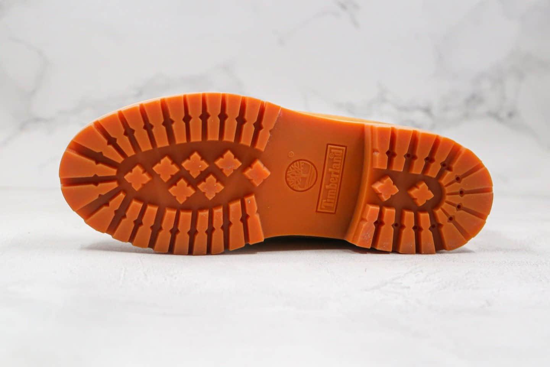 天伯伦Timberland x Mastermind Japan联名款纯原版本高帮添柏岚MMJ2代小麦色拉链款工装靴中山原代工厂出货