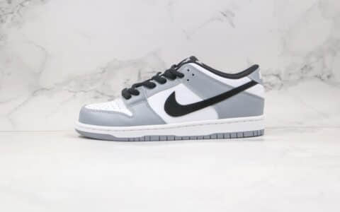 耐克Nike Dunk SB Low纯原版本低帮SB板鞋白灰黑色区别市面通货 货号:AR0778-092