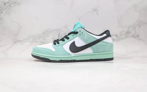 """耐克Nike Dunk Low Pro""""Sea Crystal""""公司级版本低帮SB板鞋冰晶冰绿薄荷内置气垫 货号:819674-301"""