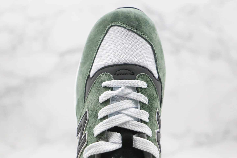 新百伦New Balance 998纯原版本美产NB998复古慢跑鞋绿色原档案数据开发 货号:M998BCA