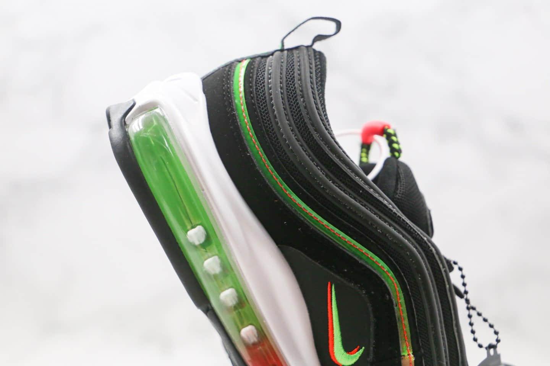 耐克Nike Air Max 97 Soft Pink纯原版本子弹头Max97气垫鞋黑彩色内置真实气垫 货号:CZ5607-001