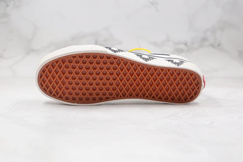 万斯Vans Style 36 Decon SF公司级版本低帮蝙蝠灰黑白色半月包头硫化板鞋原档案数据开发