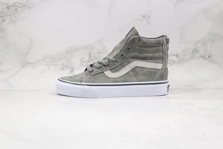 万斯Vans SK8-Hi x Madness高帮余文乐联名款公司级版本麂皮拉链硫化板鞋原厂DT代出品