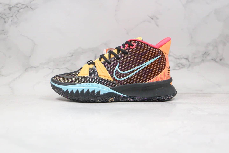 纯原版本耐克欧文7代实战篮球鞋黑彩色出货