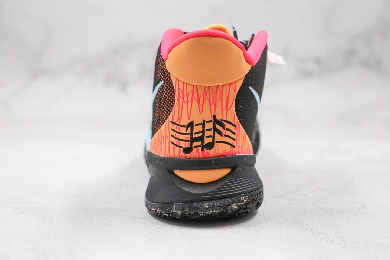 耐克Nike Kyrie 7 Pre Heat Ep纯原版本欧文7代实战篮球鞋黑彩色内置真实气垫 货号:DC0588-002