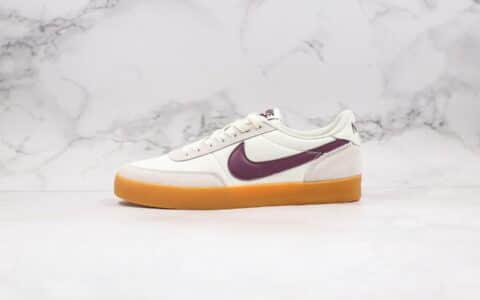 耐克Nike Killshot II Leather x J.Crew联名款纯原版本复古生胶米白酒红色板鞋原楦头纸板打造 货号:432997-112