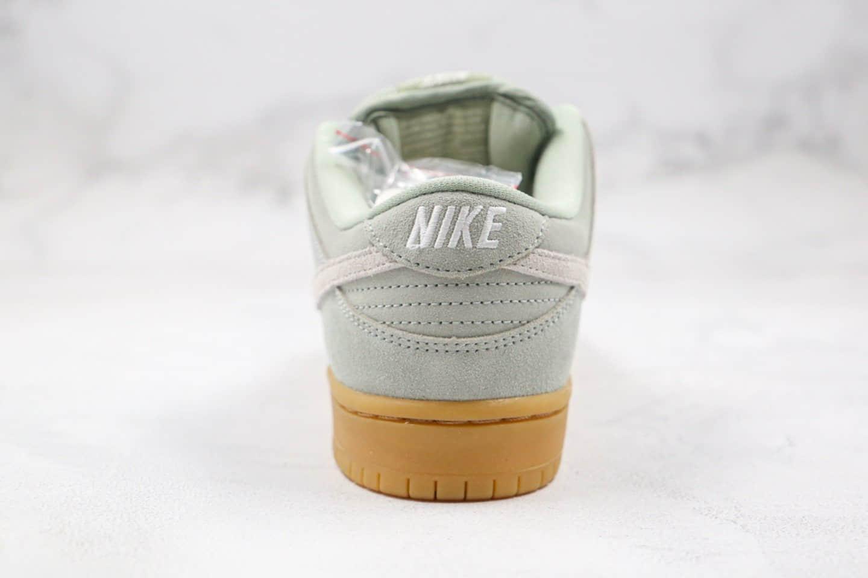 耐克Nike SB Dunk Low Pro Horizon Green纯原版本低帮SB DUNK板鞋抹茶生胶绿色内置Zoom气垫加厚鞋舌 货号:BQ6817-300