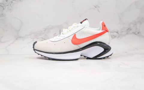 耐克Nike D MS X Waffle Starfish纯原版本华夫复古老爹鞋米白橙色原楦头纸板打造 货号:CQ0205-100