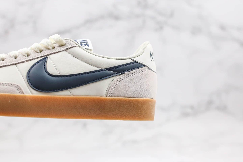 耐克Nike Killshot II Leather x J.Crew纯原版本低帮生胶米白蓝色复古板鞋原鞋开模一比一打造 货号:432997-107