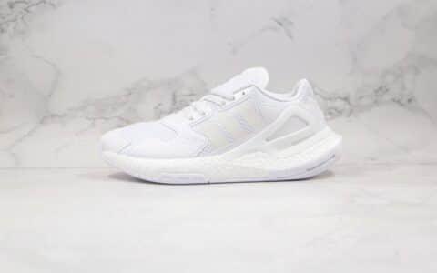 阿迪达斯adidas Originals 2020 Day Jogger Boost 2020纯原版本三叶草夜行者二代爆米花跑鞋白色原盒原标 货号:FW0238