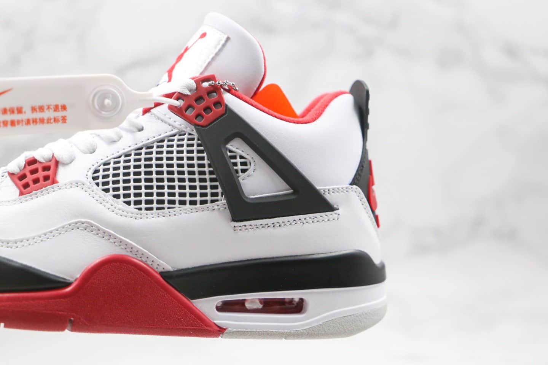 乔丹Air Jordan 4 Retro OG元年纯原版本火焰红AJ4篮球鞋内置气垫原盒原标 货号:DC7770-160