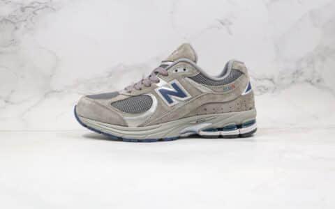 新百伦纯原版本NB2002中灰色复古慢跑鞋出货