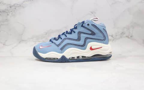 耐克Nike Air Pippen纯原版本皮蓬二代复古篮球鞋白蓝色内置真实气垫 货号:325001-403