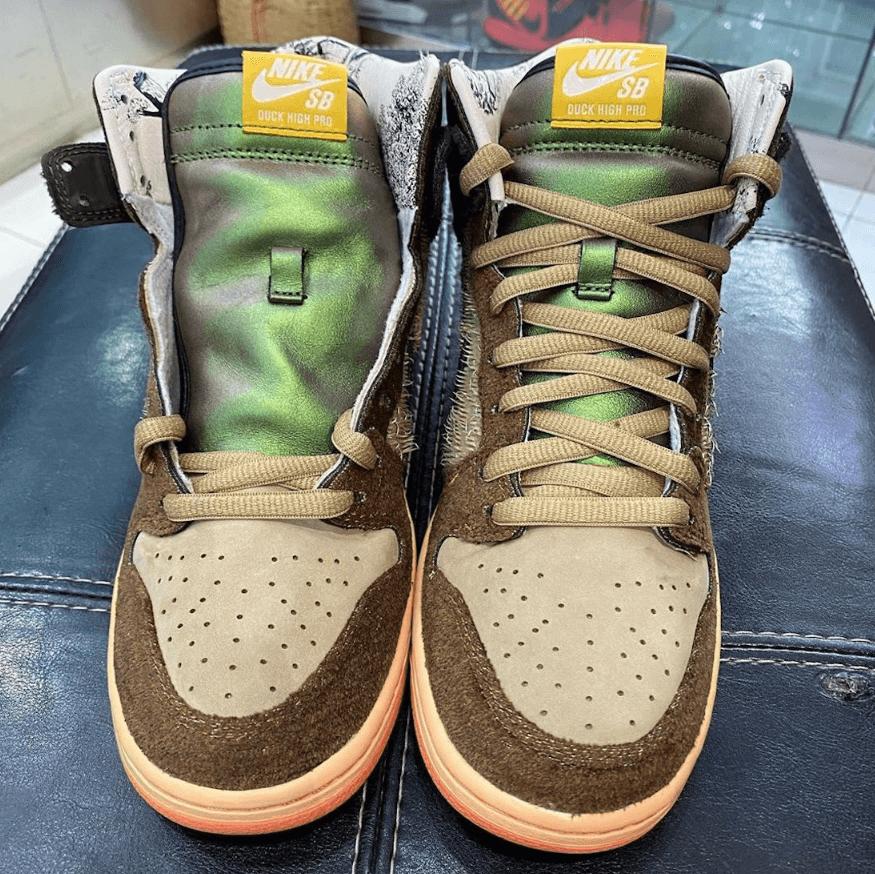 Concepts x Nike SB Dunk High野鸭配色最新实物曝光!今年十二月发售! 货号:DC6887-200