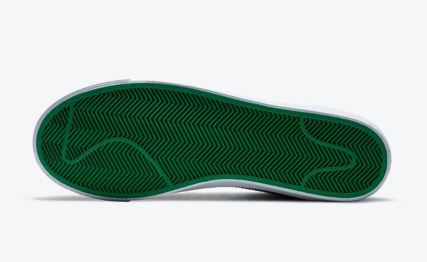 Nike Blazer Mid '77 Mid圣诞节配色曝光!即将登场! 货号:DC1619-300