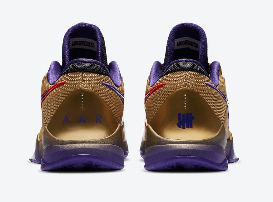 """UNDFTD x Nike Kobe 5 Protro第三款""""名人堂""""配色官图释出! 货号:DA6809-700"""