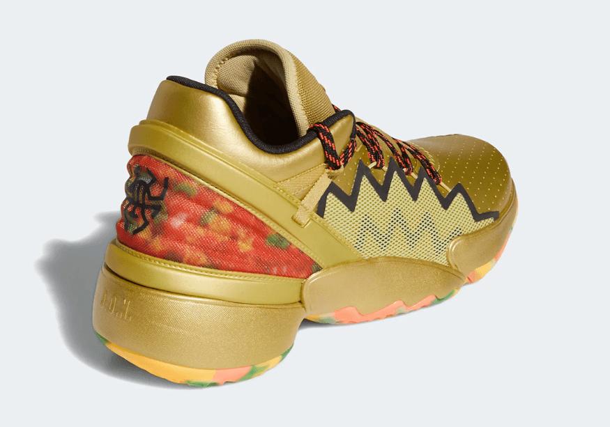 橡皮糖熊!米切尔最新战靴adidas DON Issue 2新配色曝光! 货号:FW9050