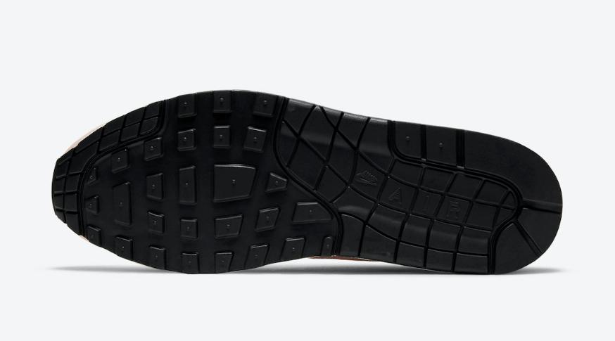 小姐姐看过来!Nike Air Max 1草莓柠檬水下月登场!暗藏3M反光!货号:CJ0609-600