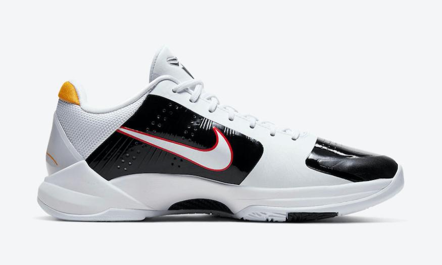 """Nike Kobe 5""""李小龙""""和黑白反转配色下月发售!发售日当天竟是..."""