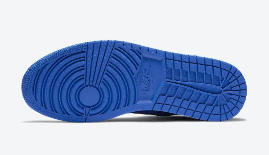 魔术贴+拉链设计!全新黑蓝AJ1现已发售! 货号:CQ3835-041