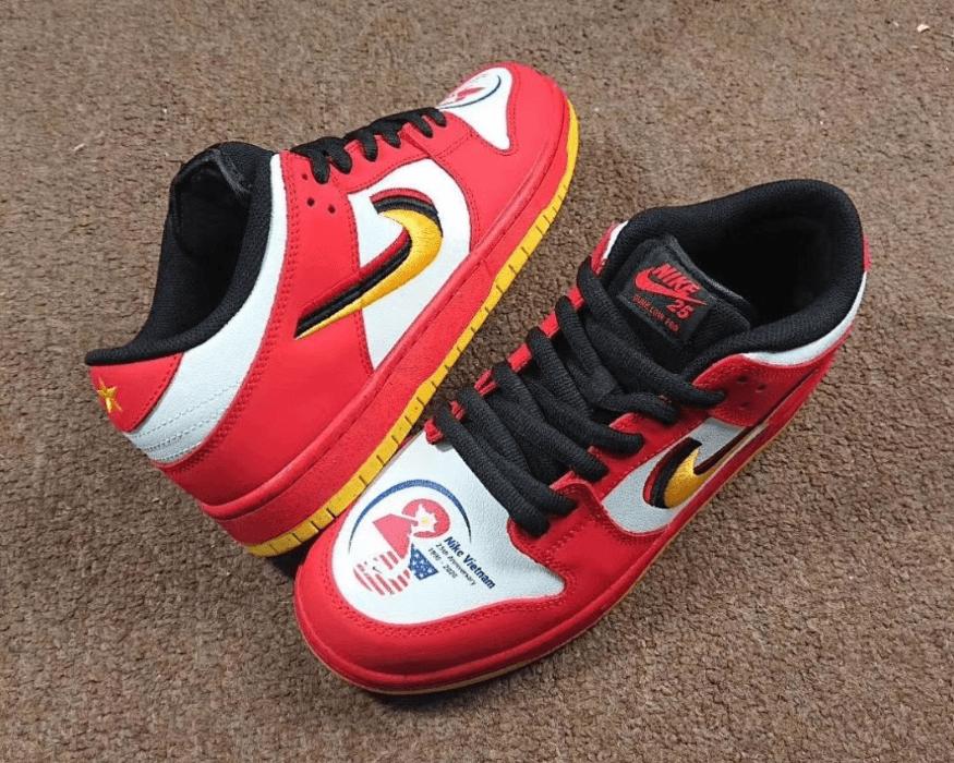 """Nike SB Dunk Low""""越南25周年""""配色首度曝光! 货号:309242-307"""
