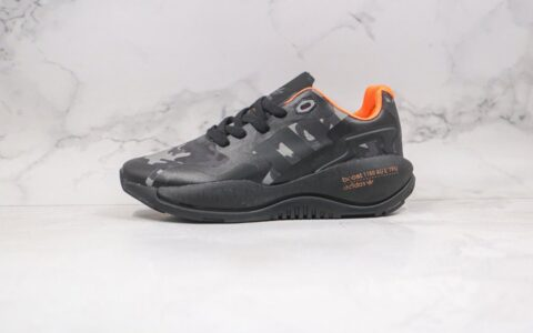 阿迪达斯Adidas Originals 2020 Day Jogger Boost纯原版本皮面夜行者二代迷彩黑橙色爆米花跑鞋原楦头纸板打造 货号:GZ8913