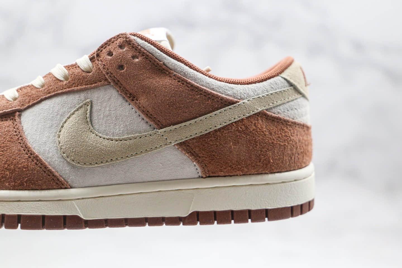 耐克Nike Dunk Low PRM Medium Curry纯原版本低帮SB DUNK奶茶米白棕色板鞋原楦头纸板打造 货号:DD1390-100