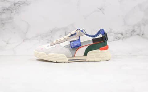 彪马Puma CGR ADER ERROR联名款纯原版本3M反光米白灰蓝厚底复古鞋原鞋开模一比一打造 货号:370108-01