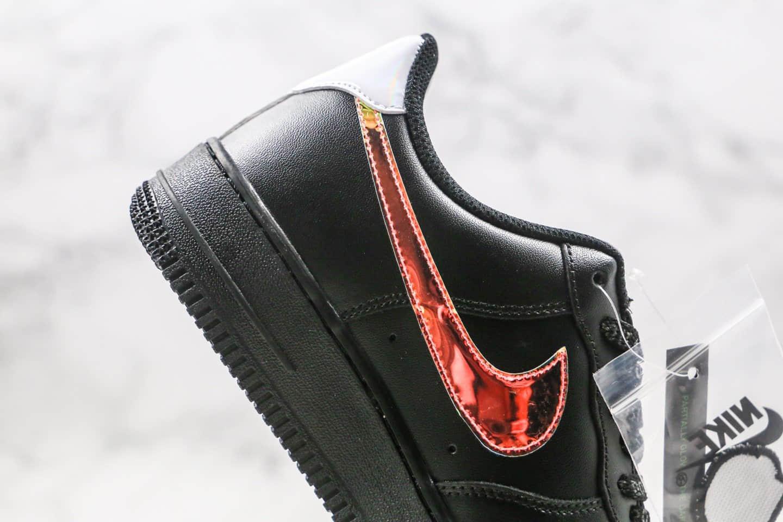 耐克Nike Air Force 1 Low纯原版本低帮空军一号电玩镭射英雄联盟黑炫彩配色原楦头纸板打造 货号:DC0710-101