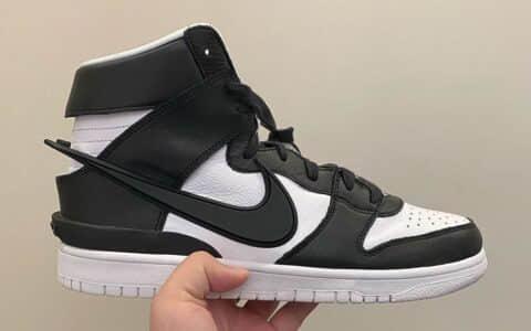 高街前卫!吴亦凡可能又要上脚了!AMBUSH x Nike Dunk High实物超帅!