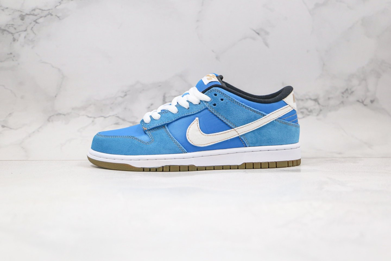 耐克Nike SB Dunk Low Pro纯原版本低帮SB DUNK街头霸王春丽氩蓝白色陈冠希同款板鞋内置Zoom气垫加厚鞋舌 货号:304292-405