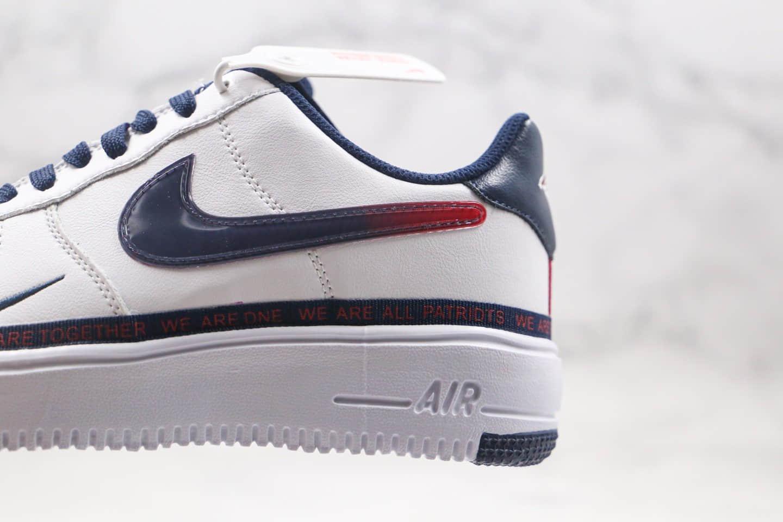 耐克Nike Air Force 1 Low纯原版本低帮空军一号轻量化串标渐变勾白蓝红色内置气垫 货号:DB6316-100